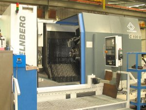 Klingelnberg for cutting a spiral bevel gear